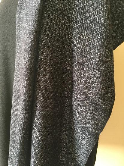 Shades of Grey & Black Tencel Scarf