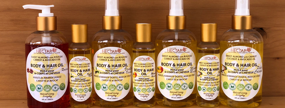 BODY & HAIR OILS