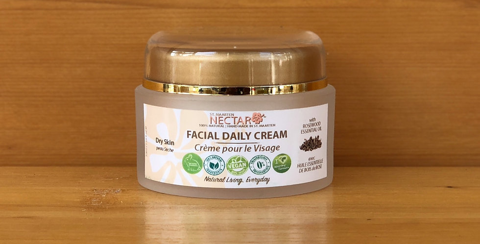 Rosewood Facial Daily Cream