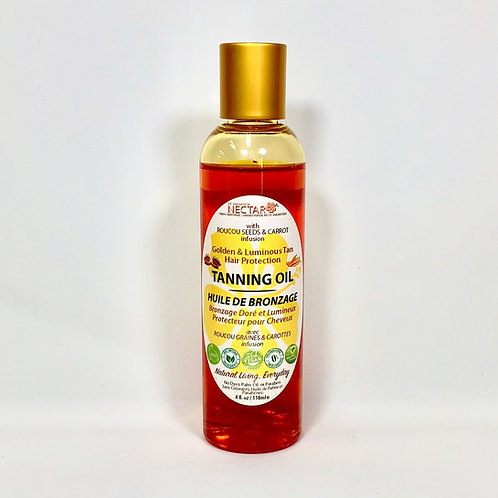 Tanning Oil Roucou & Carrot
