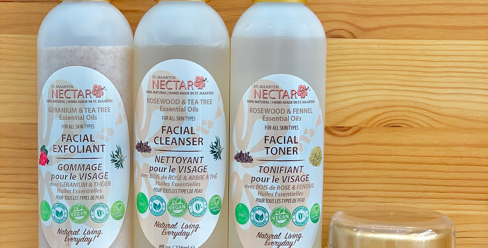 NECTAR FACIAL SET - Premium