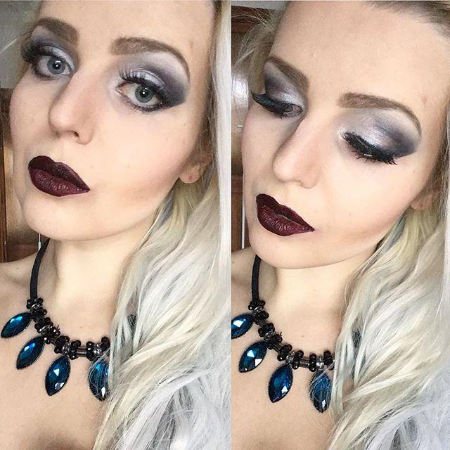 Dark Angel make-up 💋😇 #makeup #makeupa