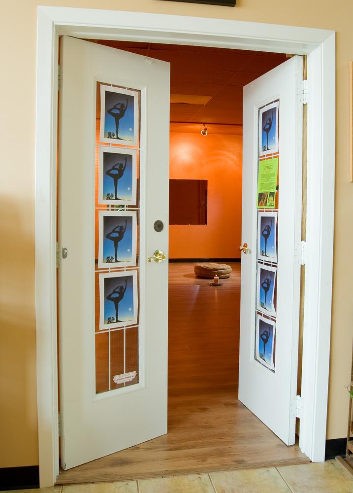 Mike pic door of studio