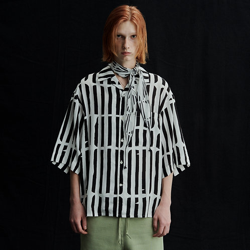 OPEN COLLAR SHIRTS S/S