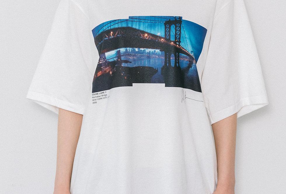 MANHATTAN BRIDGE SHORT SLEEVE T-SHIRTS