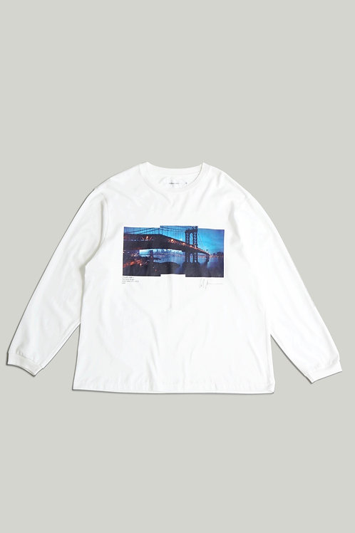 MANHATTAN BRIDGE LONG SLEEVE T-SHIRTS