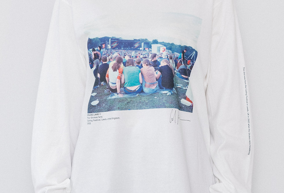 FOUR STROKES FANS.CARLING FESTIVAL LONG SLEEVE T-SHIRTS