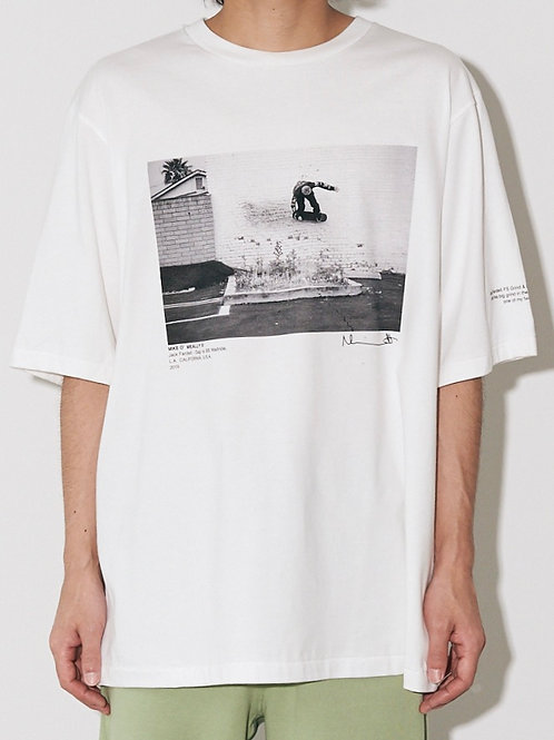 JACK FARDELL WALL RIDE & GRIND & DROP SHORT SLEEVE  T-SHIRT