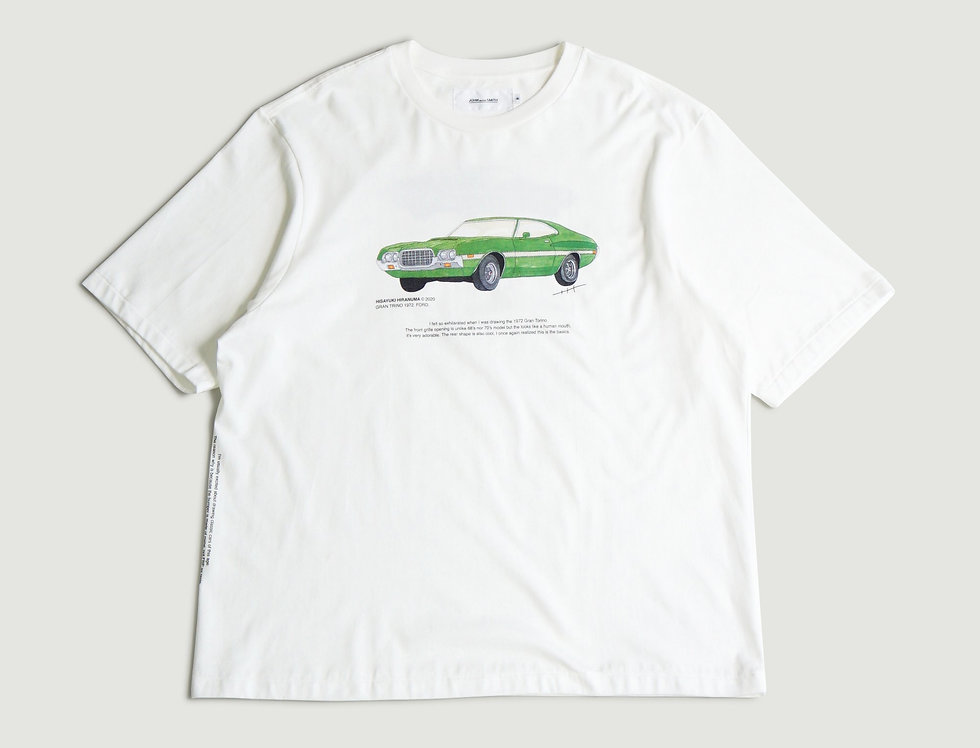 GRAN TRINO. FORD 1972 SHORT SLEEVE T-SHIRTS
