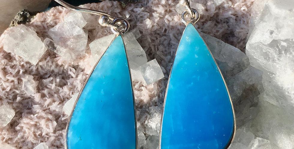 Smithsonite | 925 Sterling Silver | Earrings