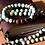 Thumbnail: Teal Fire Agate + Bronzite  | 108 Bead Mala with Buddha Pendant