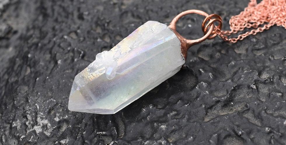 Angel Aura | Electroformed Copper | Pendant Necklace