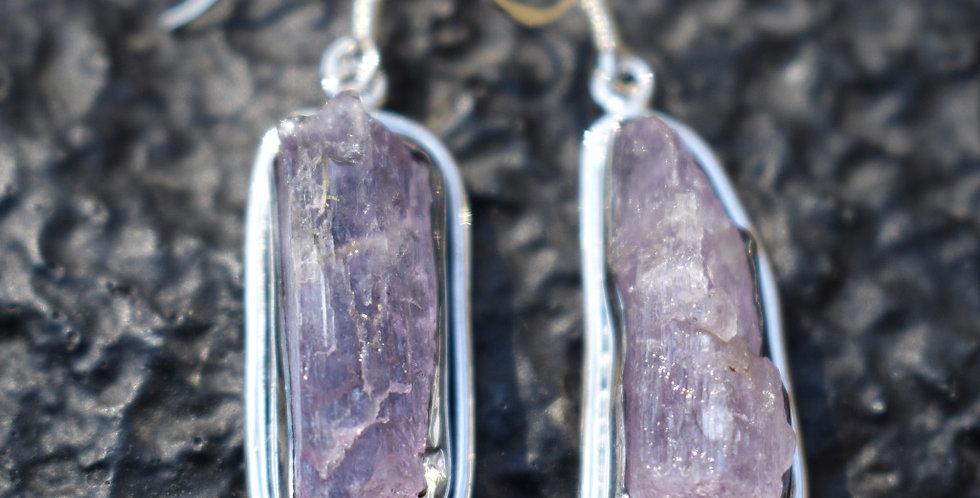 Kunzite | 925 Sterling Silver | Earrings