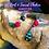 Thumbnail: Root & Sacral Chakra Support  | Goddess Charm | Beaded Crystal Gemstone Fob