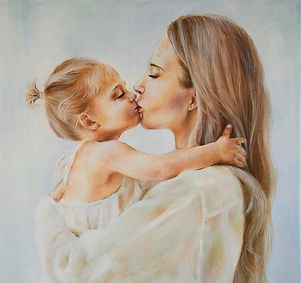 original-oil-paintingbeautiful-tender-portrait-of-mother-and-baby-mom-holds-her-daughter-alya-frisso