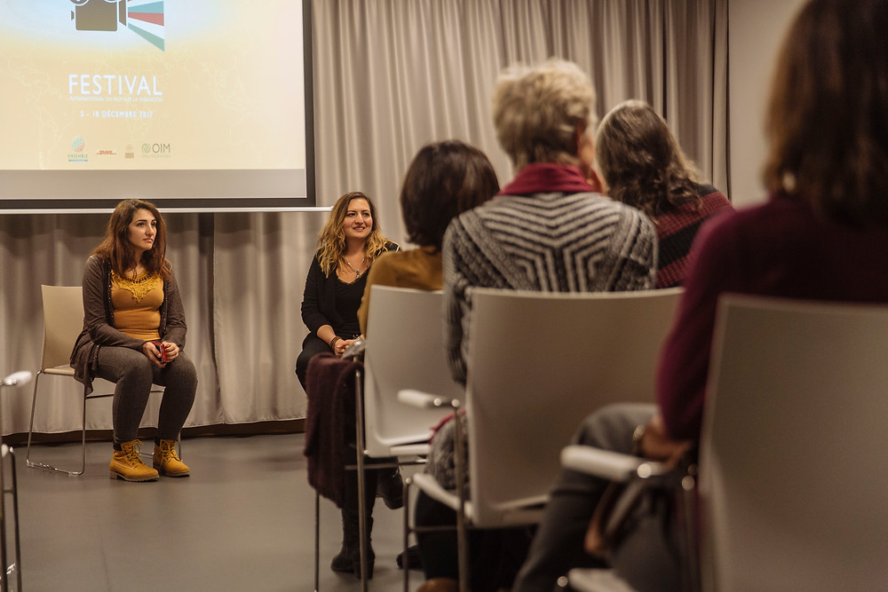 Maisa Alhafez and Eda Elif Tibet Q&A session