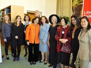 UN library Talks in Geneva with leading women
