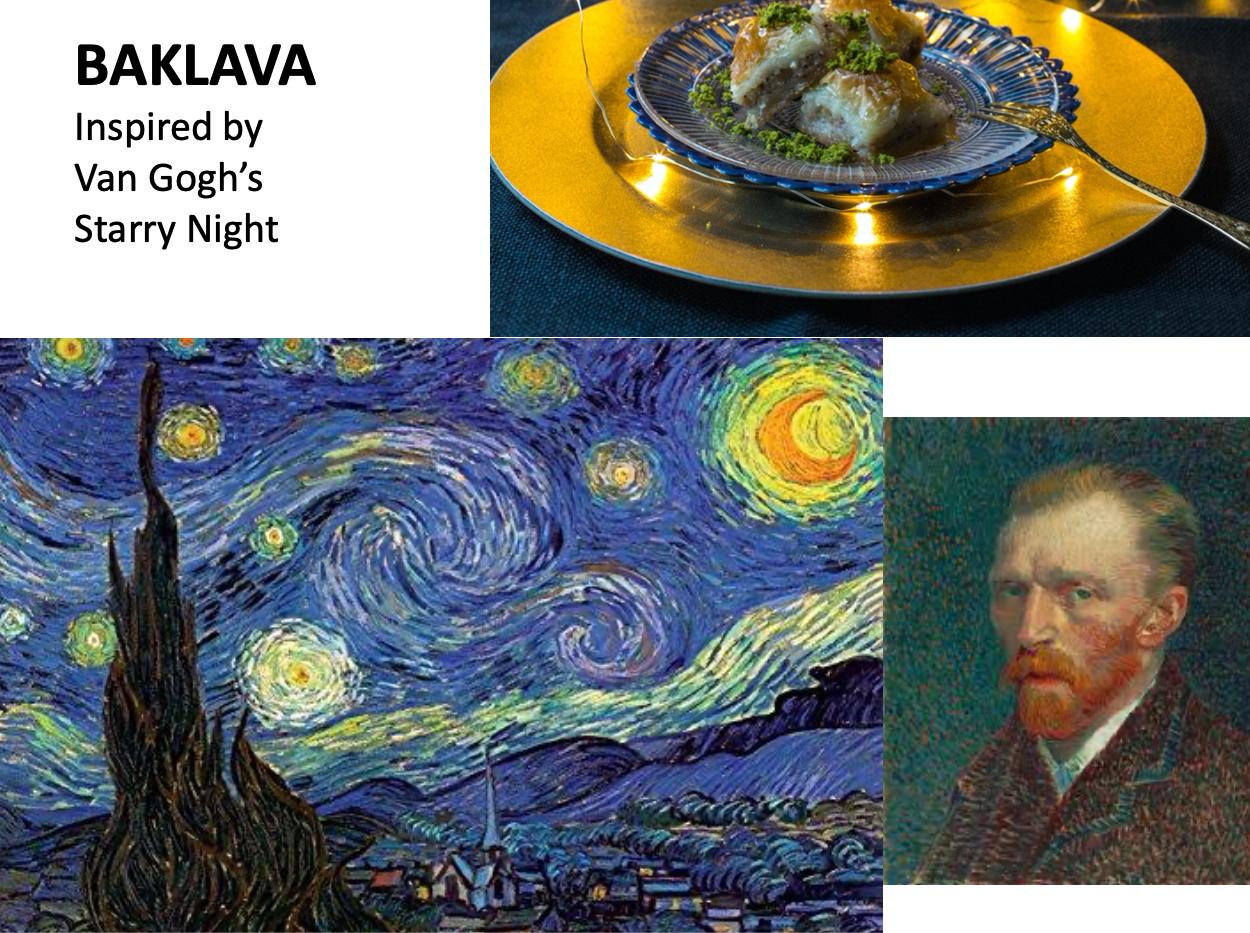 Van Gogh Baklava