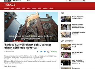 BBC Turkey Covers Istanbul Mosaic Oriental Choir