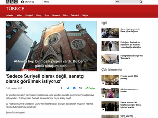 BBC Turkey Covers Istanbul Mosaic Oriental Choir