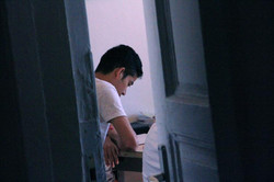 30.Studying behind the closed doors