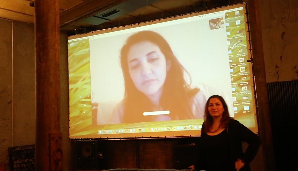 Intimate distances, Eda Elif Tibet and Maisa Alhafez