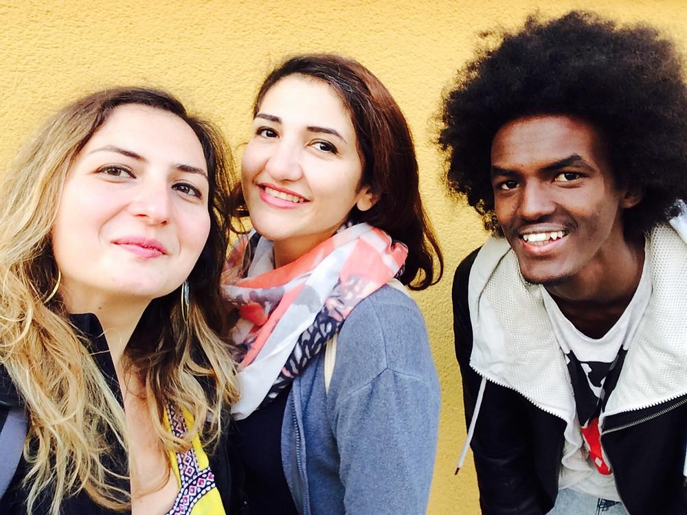 Eda Elif Tibet & Maisa Alhafez & Abdi Deeq