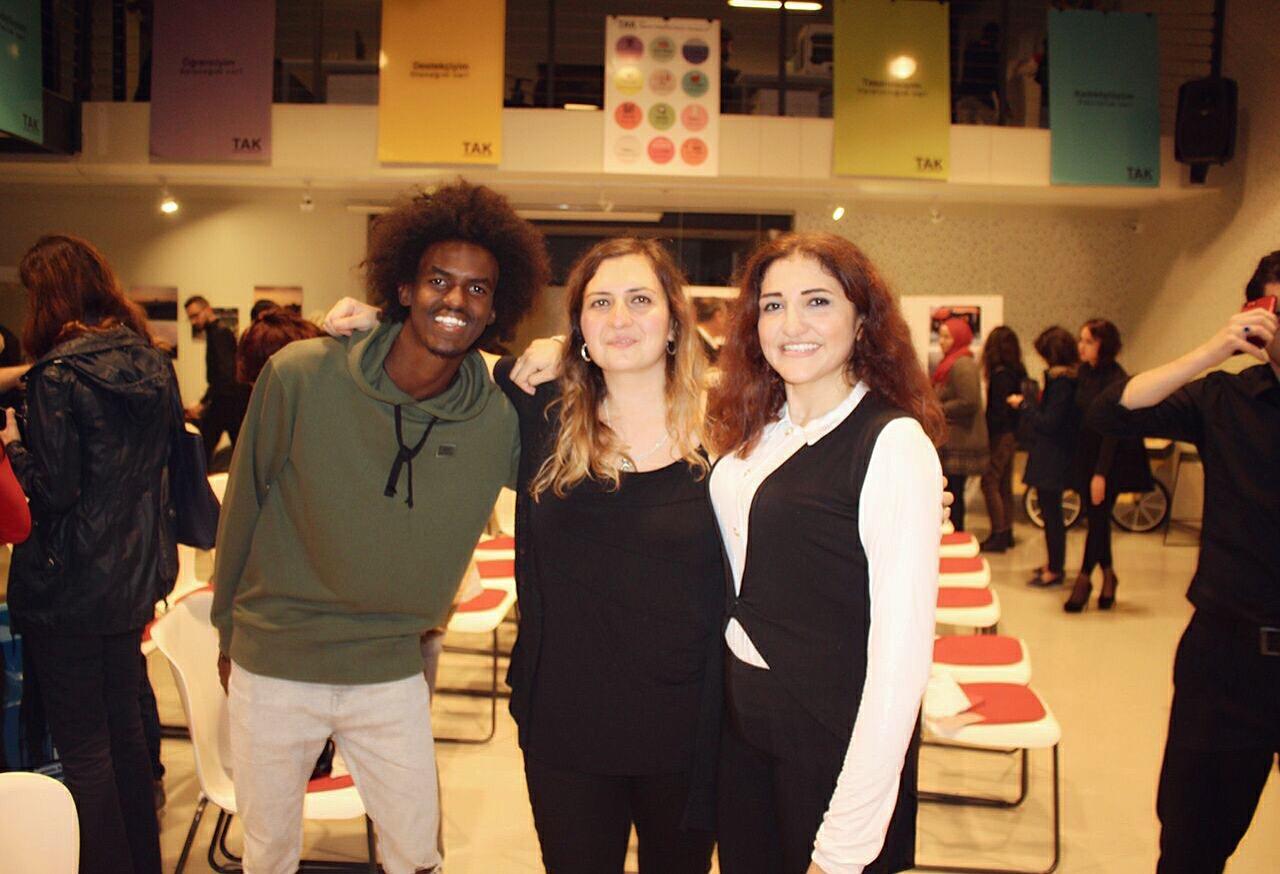 with Eda Elif Tibet, Maisa Alhafez