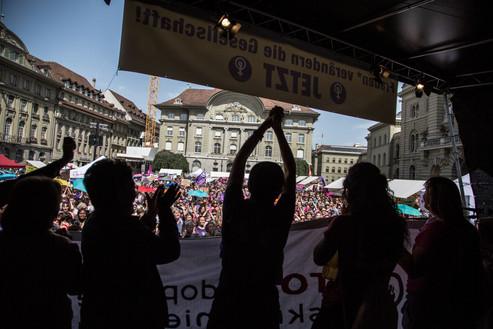 Women Power Frauenstreik