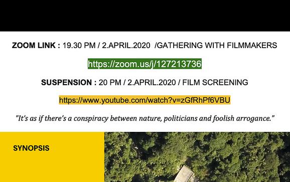 Pop Up Event: Suspension