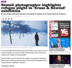 Yeni Safak News article