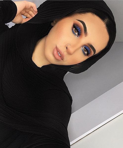 Maryam's Diamond Style Premium Pleated Crinkle Hijab