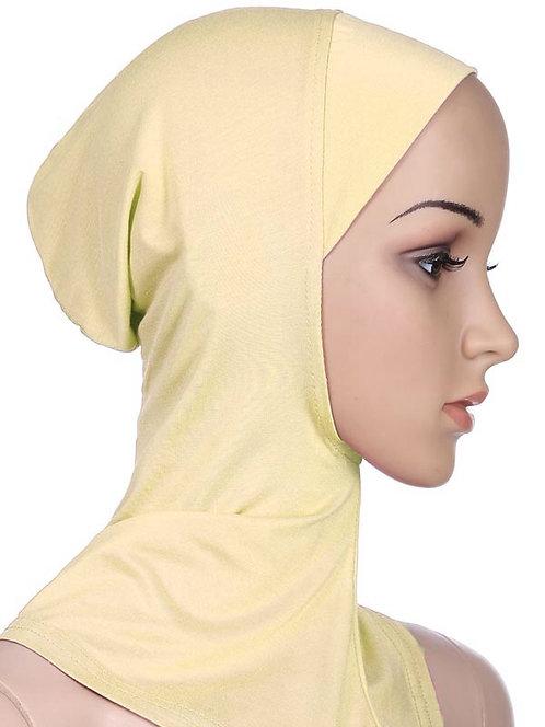 Maryam's Diamond Style Full Cover Inner Hijab Cap, Neck Head Bonnet