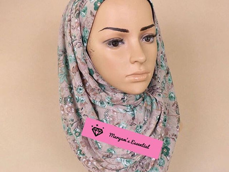 TOP THREE HIJAB/SCARVES MATERIAL