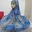 Thumbnail: Maryam's Diamond Style Long Printed Khimar Hijab