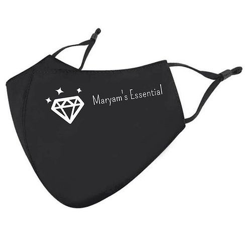 Maryam's Diamond Style Latest Triple Layer Face Mask