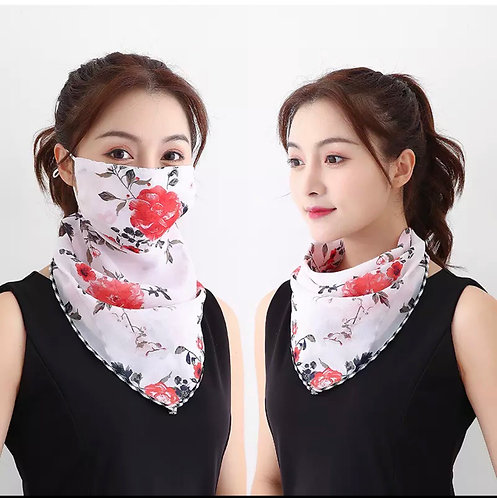 Maryam's Diamond Style Latest Face Mask Scarf