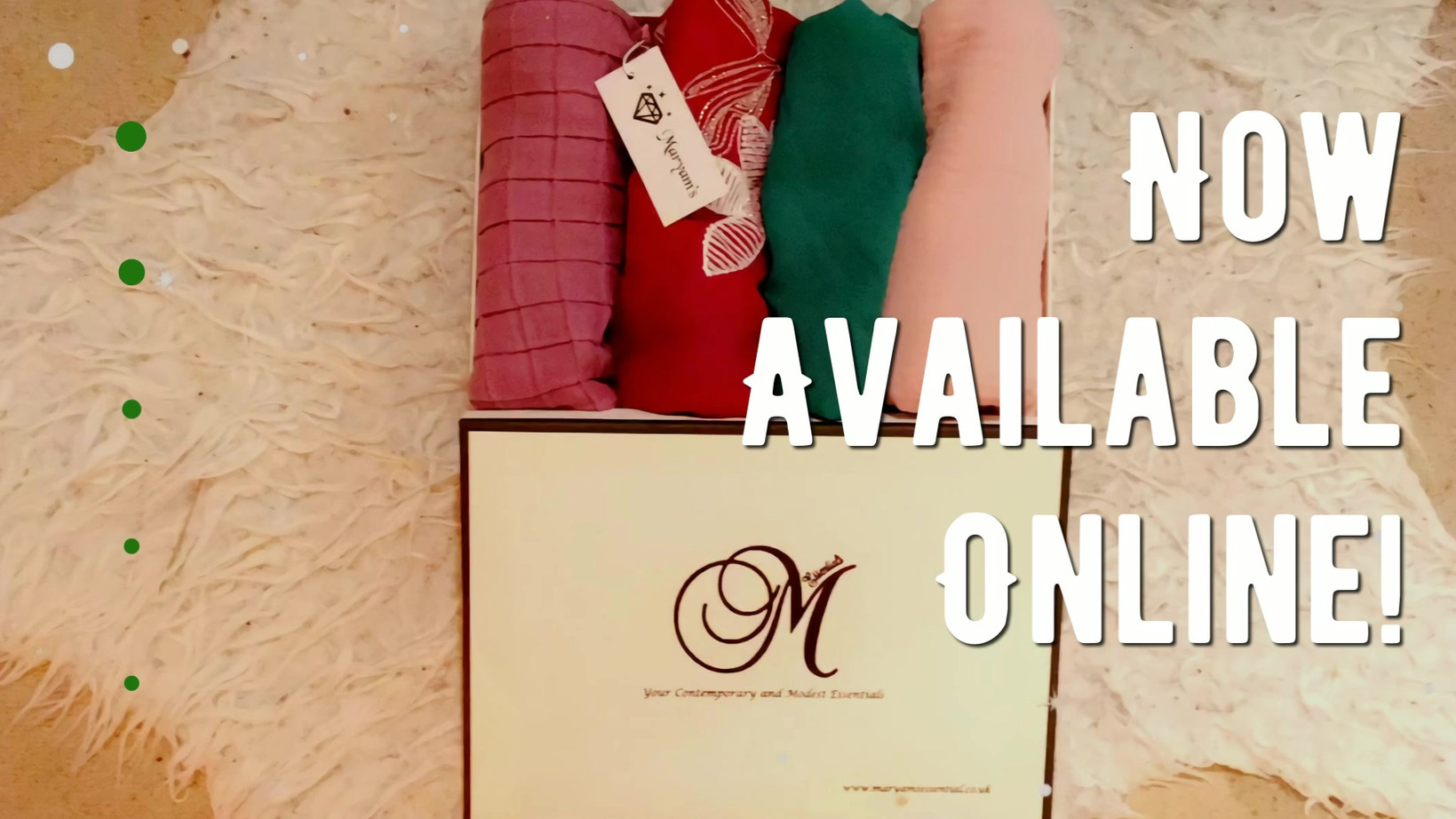Maryam's Diamond Style Collection Set