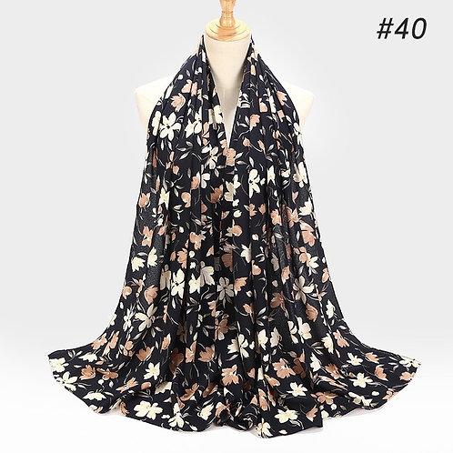 Maryam's Diamond Style Printed Bubble Chiffon Hijab
