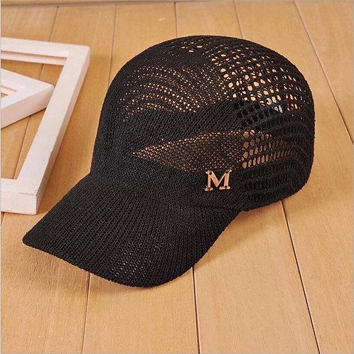 Maryam's Diamond Style 2020 Design Metal M Equestrian Unisex Cap