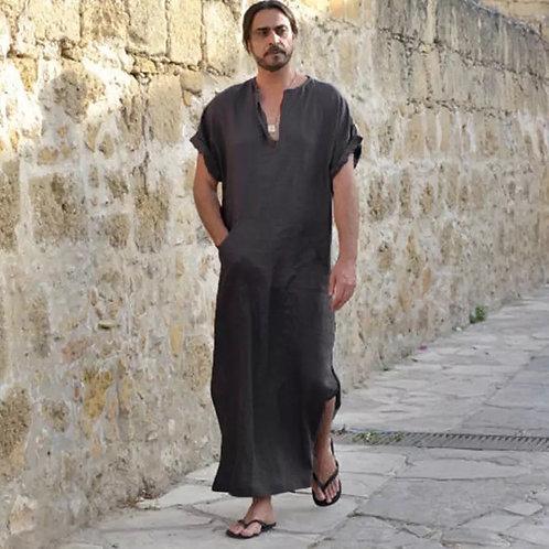Maryam's Diamond Style Men's Ethnic Loose Vintage Robe