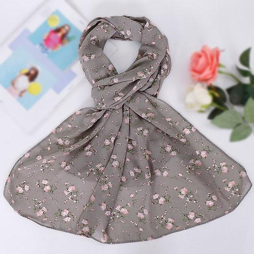 Maryam's Diamond Style Printed Chiffon Hijab