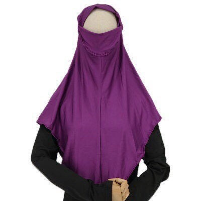 Maryam's Diamond Style Instant One Piece With Face Covering Hijab