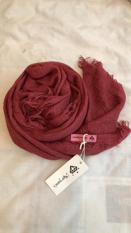 Maryam's Diamond Style Premium Cotton Hijab