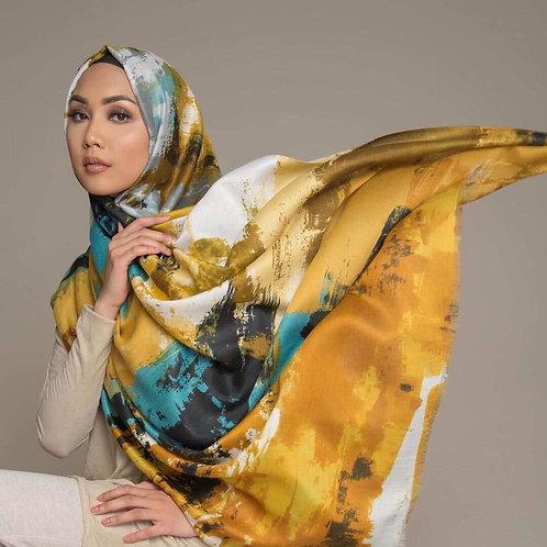 Maryam's Diamond Style Printed Cotton  Hijab/Shawl