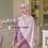 Thumbnail: Maryam's Diamond Style Stunning Feather Chiffon Hijab/Shawl