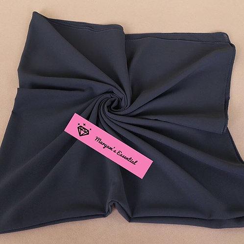 Maryam's Diamond Style 2019 Square Everyday Pure Solid Colour Chiffon Hijab