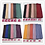 Thumbnail: Maryam's Diamond Brand Style New Design Plain Pleated Chiffon Crinkle Hijabs are