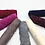 Thumbnail: Maryam's Diamond Style Plain Cotton Viscose Lace Edge Wrinkle with Pearls Hijab