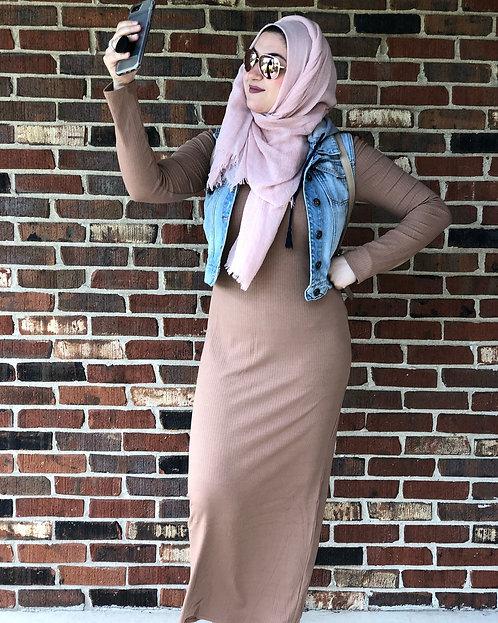 Maryam's Diamond Style Basic Body Dress